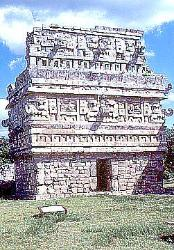 The 'Nunnary' building, Chichen Itza, Mexico