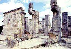 Temple of the Warriors, Chichen Itza, Mexico