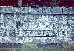 Skullrack, Chichen Itza, Mexico
