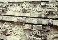 Temple of Quetzalcoatl, Teotihuacan, Mexico