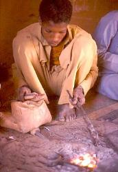 Traditional metallurgy, Agadez, Niger