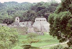 Mayan site of Palenque, Mexico