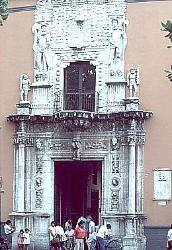 Preserved house of Francesco Montejo, Merida, Mexico