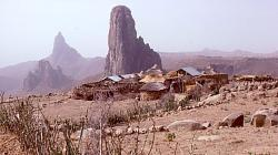 Village in the highlands of Cameroon