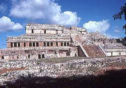 The Palace, Mayan site of Sayil, Mexico